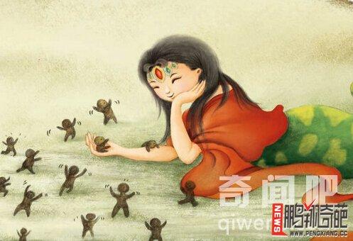 【图】中国人类由来之女娲造人的神话故事